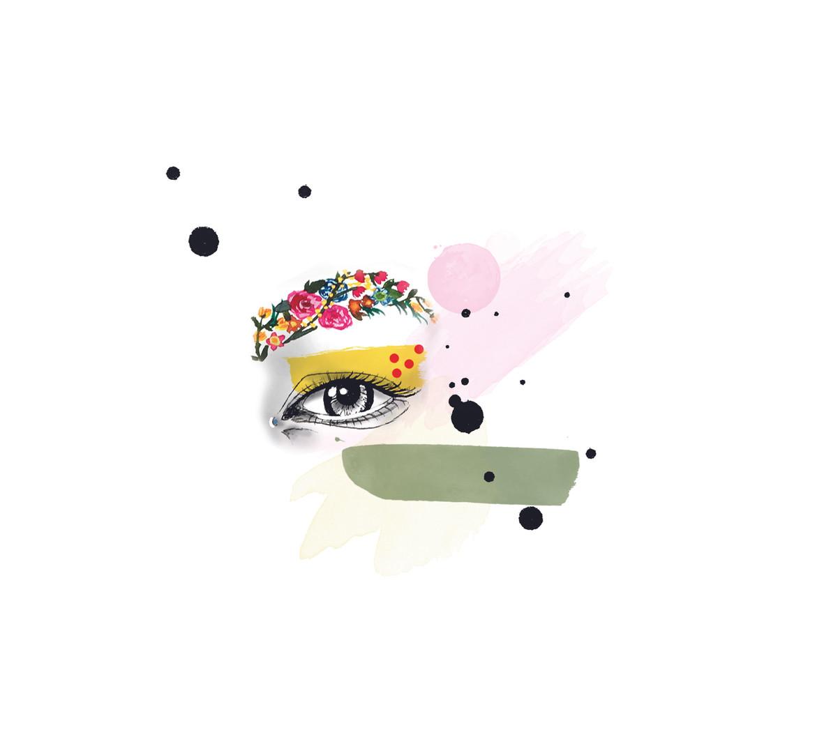 Watercolor + Digital Illustration