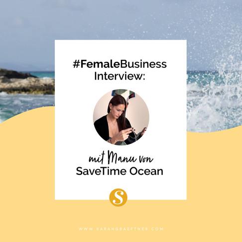 #FemaleBusiness Interview: SaveTime Ocean