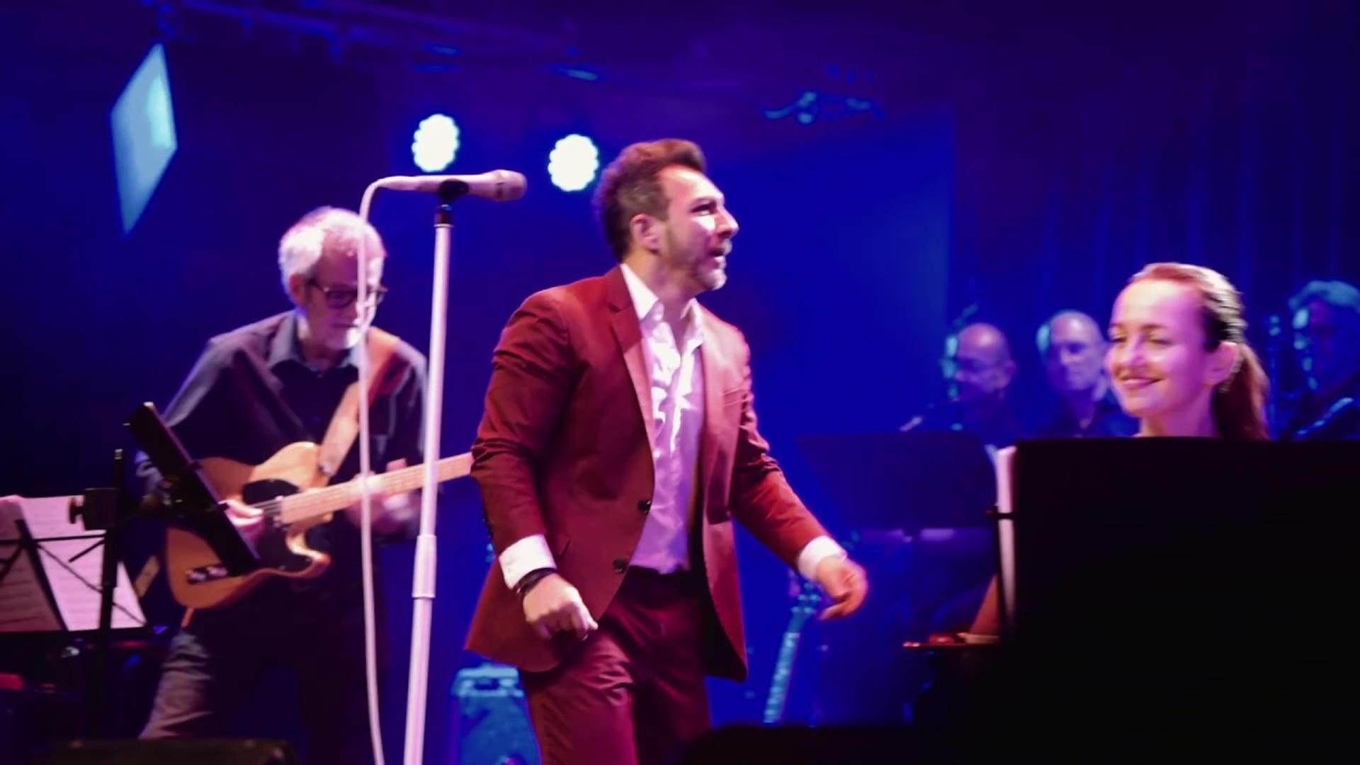 Live im Wiener Metropol mit Band_Kiss