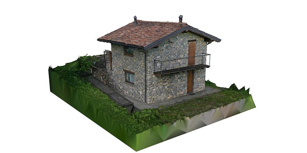 Agisoft Metashape - Dimostrazione di Rilievo 3D con Drone