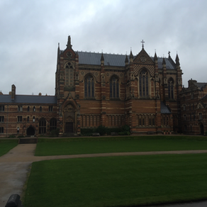 Keble College Oxford Visit