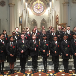 Schola Cantorum sing at St Barnabas Cathedral, Nottingham - Saturday 22nd September