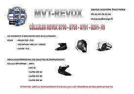 CELLULE REVOX B790-B795-B71-B291-H9