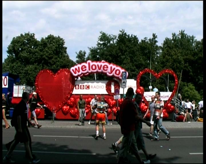 Berlin Love Parade Float
