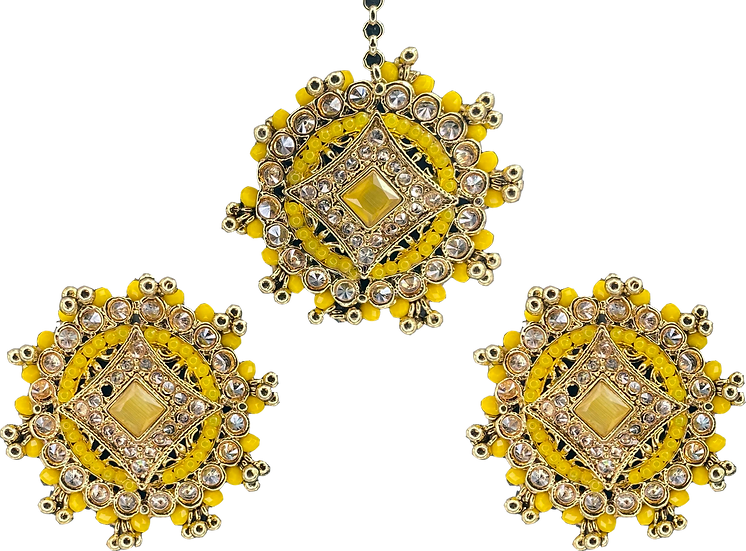 Star Stud - Yellow