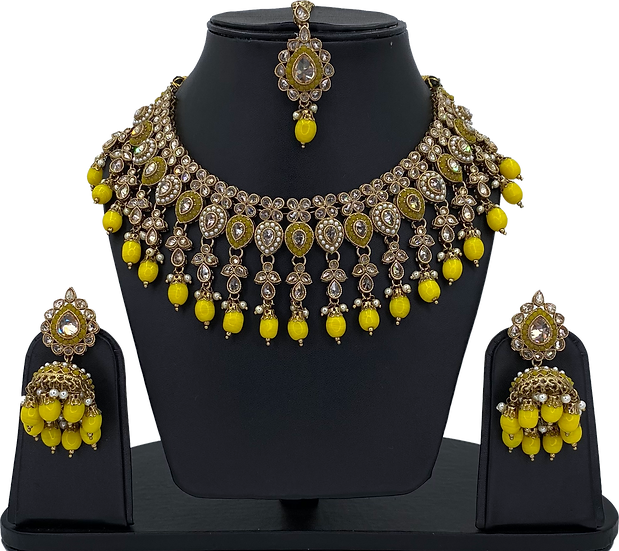 Anarkali - Yellow
