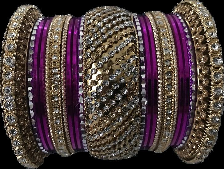 Stone Studded - Purple