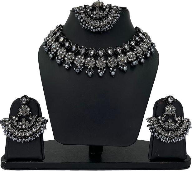 Anjali - Oxidised Grey