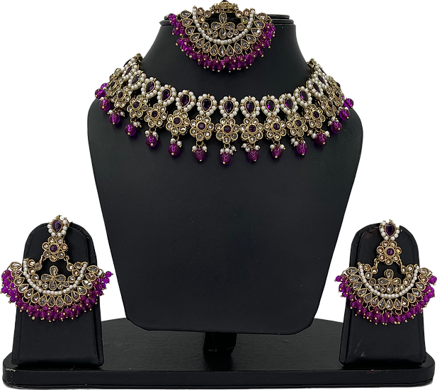 Anjali - Purple