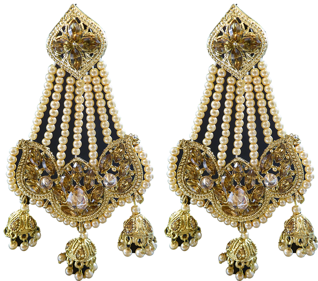 3 Jhumki - Gold