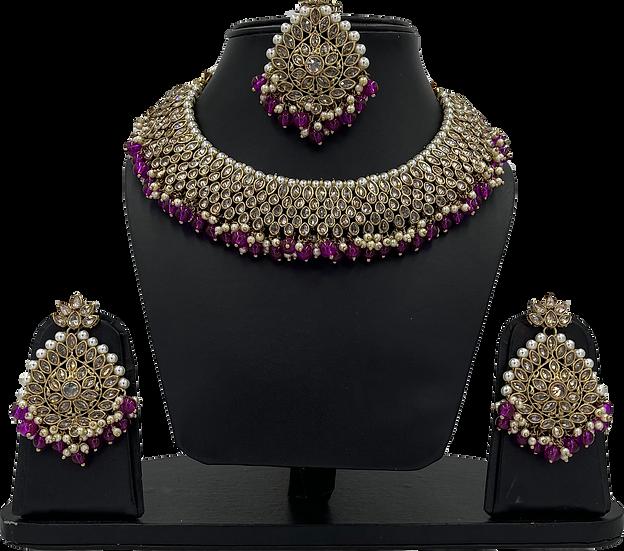 Madhuri - Purple