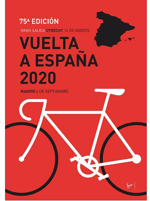My Vuelta A Espana Minimal 2020