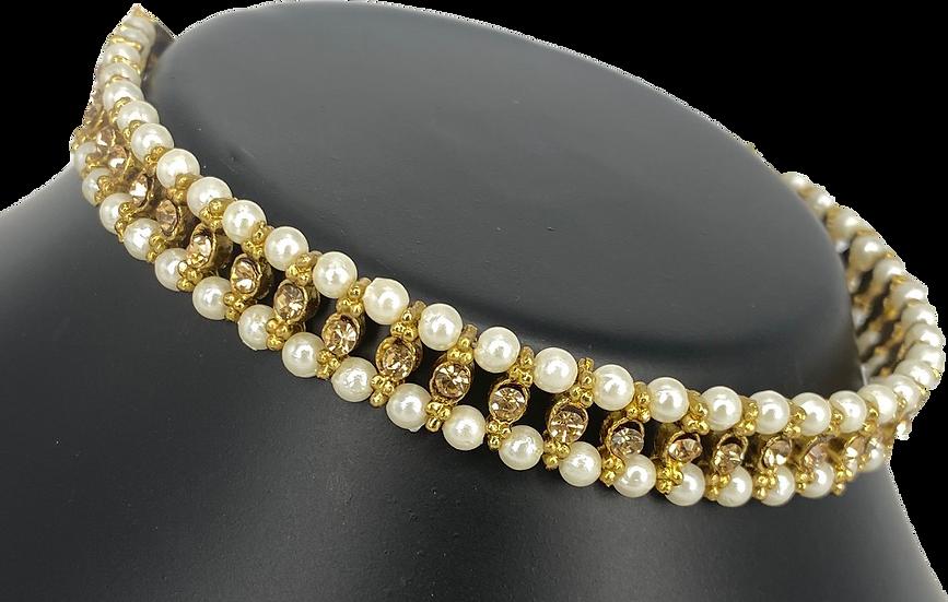 Pearl - Double Line - Bronze