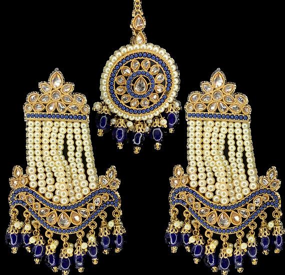 Passa Style Earring - Navy