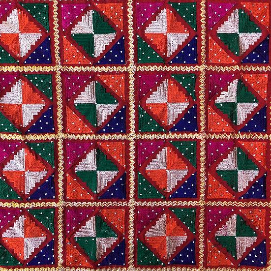 Phulkari - Diamond Grid