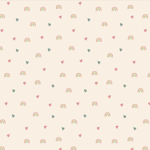 Arco Íris Coração Rosé - AD15012