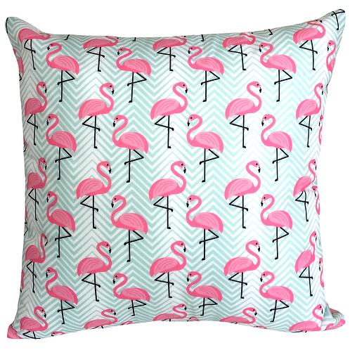 Almofada Flamingos Verdes - AC14188