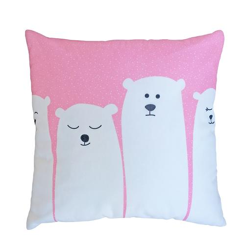 Almofada Ursos Rosa - AC14303