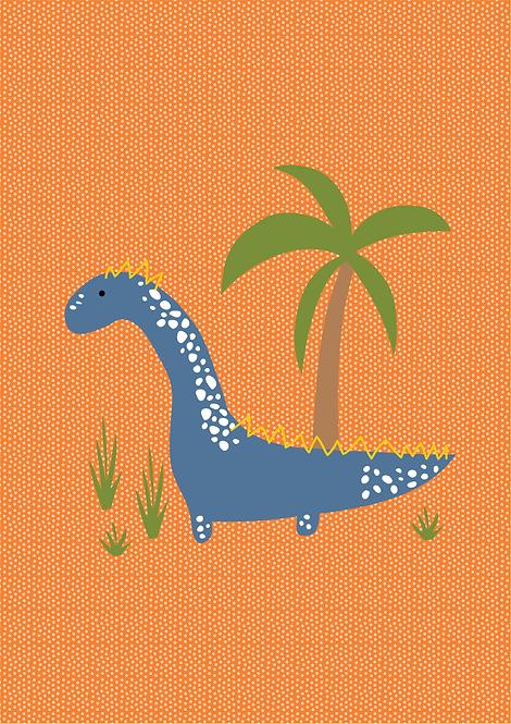 Dinossauro Laranja - P19010