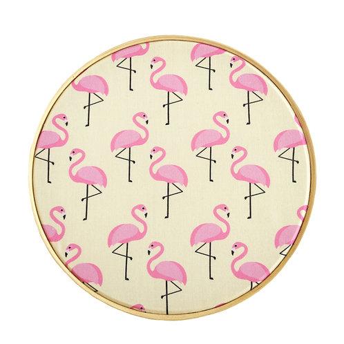 Bastidor Flamingo Amarelo - B15015