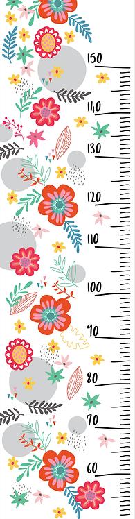 Régua Floral - RG15004