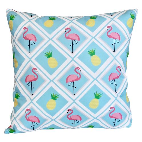 Almofada Flamingo Abacaxi - AC14099