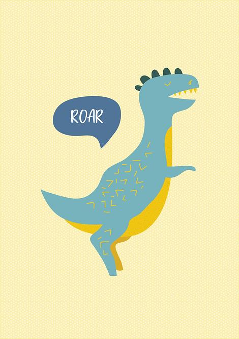 Dinossauro Amarelo - P19009