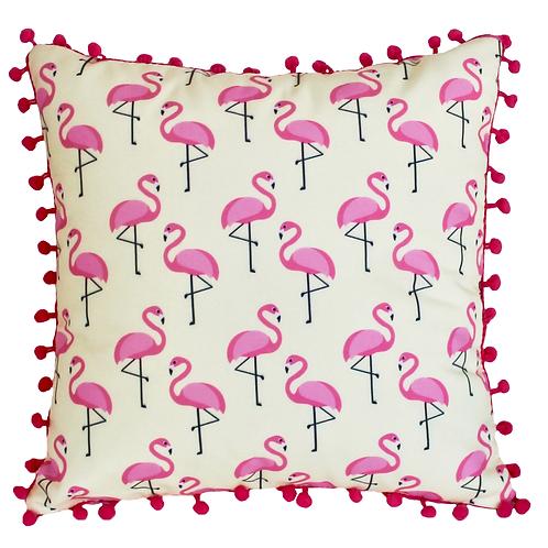 Almofada Flamingos Amarelos - AC14169