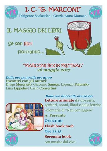 """""""Marconi Book Festival"""": assaporare insieme il piacere della lettura"""