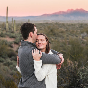 Brooke & Eric's Salt River Engagement
