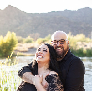 Brooke & Brad's Salt River Engagement