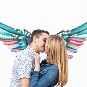 Elizabeth & Mike's Downtown Phoenix Engagement