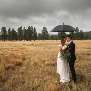 Lindsay & Kyle's Mormon Lake Wedding