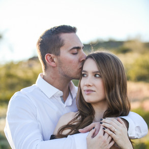 Rachel & Kevin's South Mountain Engagement
