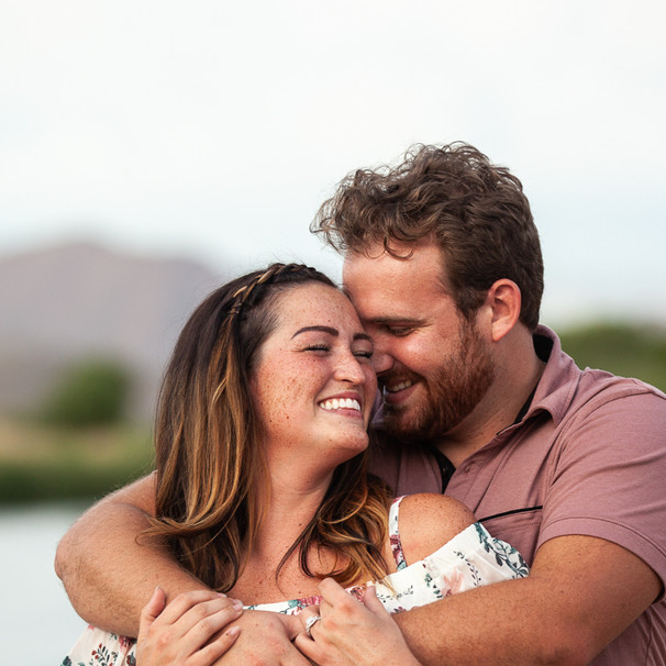 Kimberly & Jeremy's Engagement at the Salt River