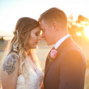 Shelby and Logan's Backyard Wedding