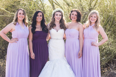 Local wedding photography bridal party photos