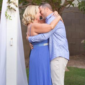 Marian & Jon Luc's Backyard Wedding