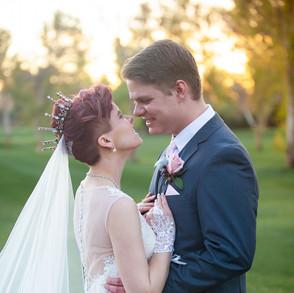 Kaitlyn and Joshua's Starfire Wedding
