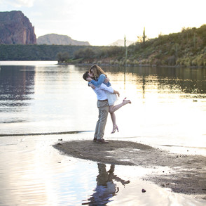 Sarah & Ryan's Salt River Engagement