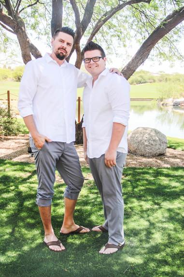 Local wedding photography groom with groomsmen