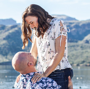 Brianna & Brian's Salt River Engagement