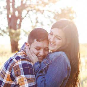 Maranda & Louie's Sunrise Engagement in Flagstaff