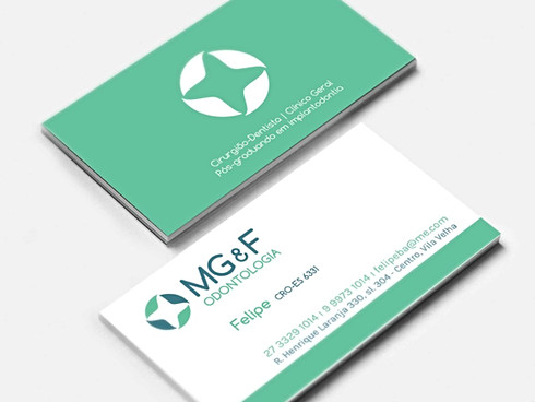 Identidade MG&F Odontologia
