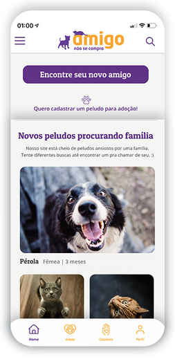 Home Page - Mobile