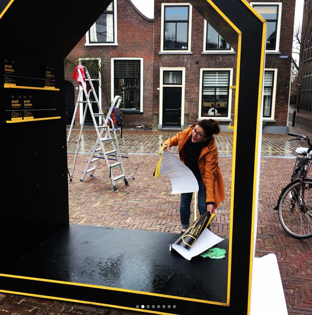 Opbouw Open Expo Schiedam