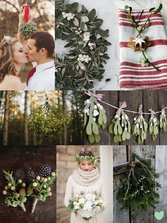 bruiloft met kerst en een weddingplanner