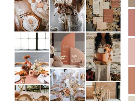 21 inspirerende moodboards voor bruiloften