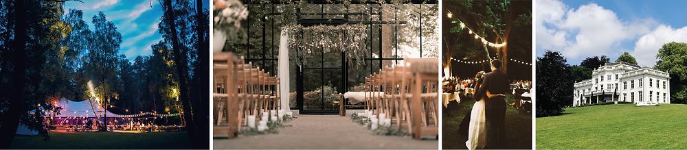 In het bos trouwlocaties via weddingplanner As You Desire