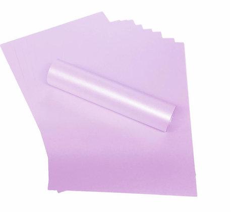 Pearlescent Paper - Pale Lavender